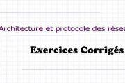 Architecture et protocole des réseaux