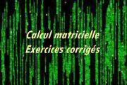 Calcul matricielle