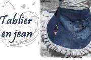 Tablier en jeans