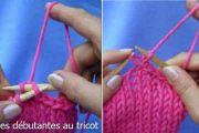 Pour les débutantes au tricot