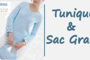 Tunique et Sac Grace au crochet