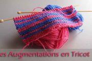 Les augmentations en tricot