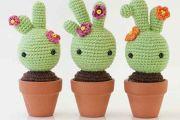 Bébé Cactus au crochet