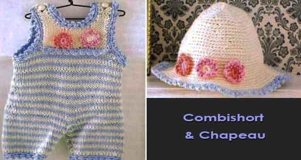 Combishort et Chapeau