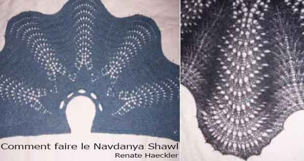 Comment faire le Navdanya Shawl