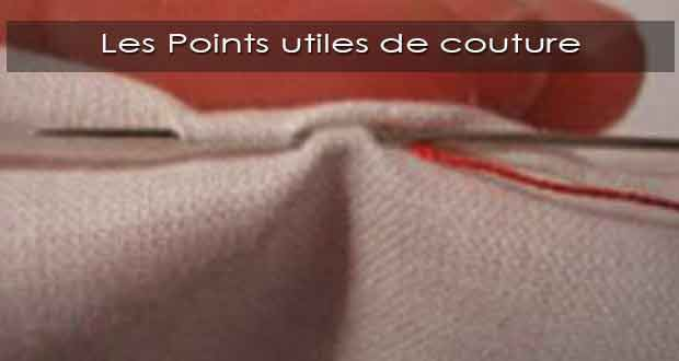 Les Points utiles de couture