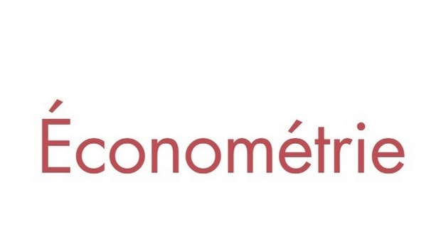 Méthodes économétries