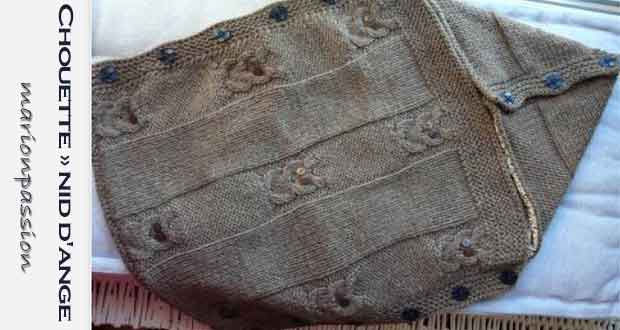 Tuto nid d ange tricot facile - altoservices c949172f3a7
