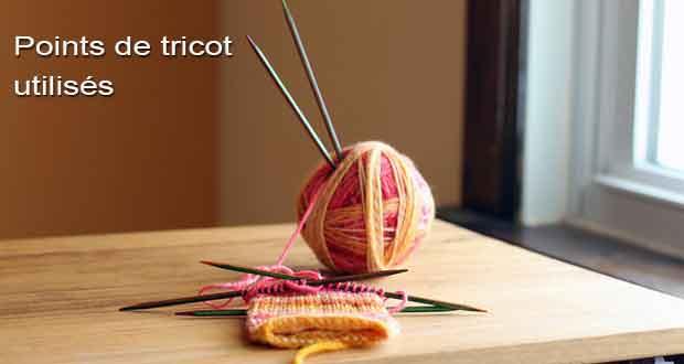 Supports de cours pdf tutoriels et formation - Differents points de tricot ...