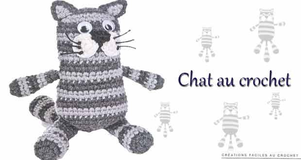Chat au crochet