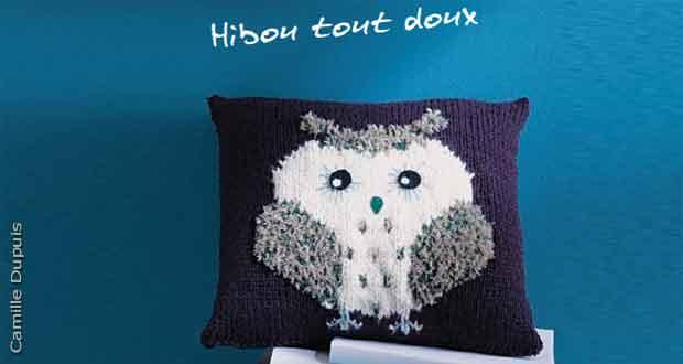 Coussin Hiboux