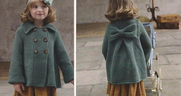 Manteau fillette