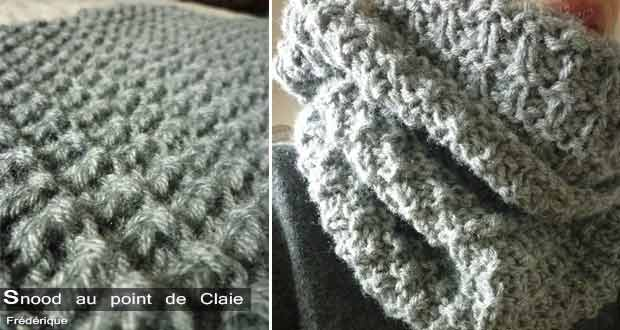 Snood Point de Claie